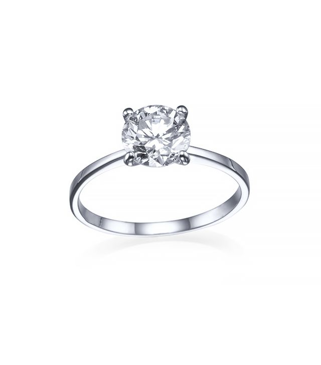 Shiree Odiz Lioness 4-Prong Diamond Ring