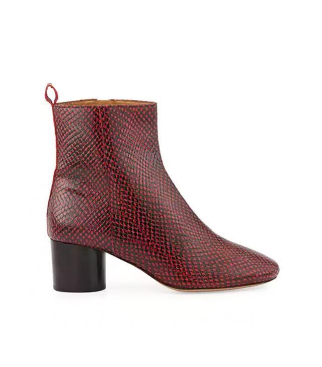 Isabel Marant Deyissa Python-Embossed Boot