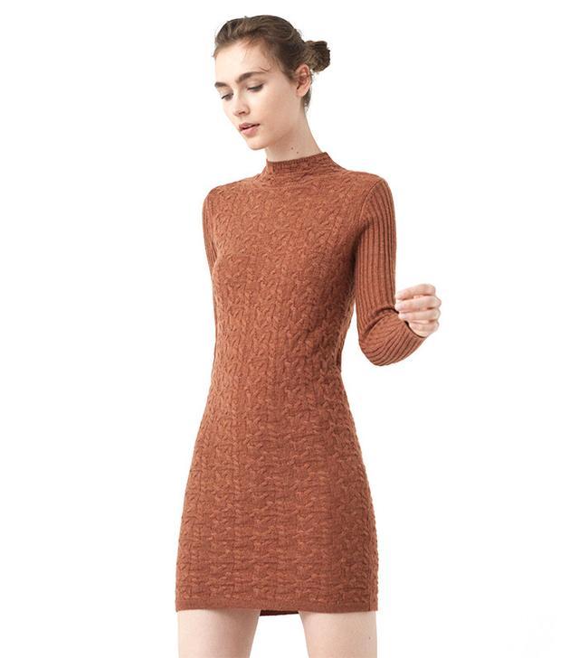 Mango Jersey Bodycon Dress