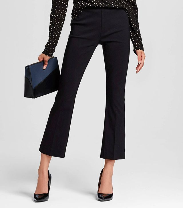Who What Wear Cropped Flare Pant