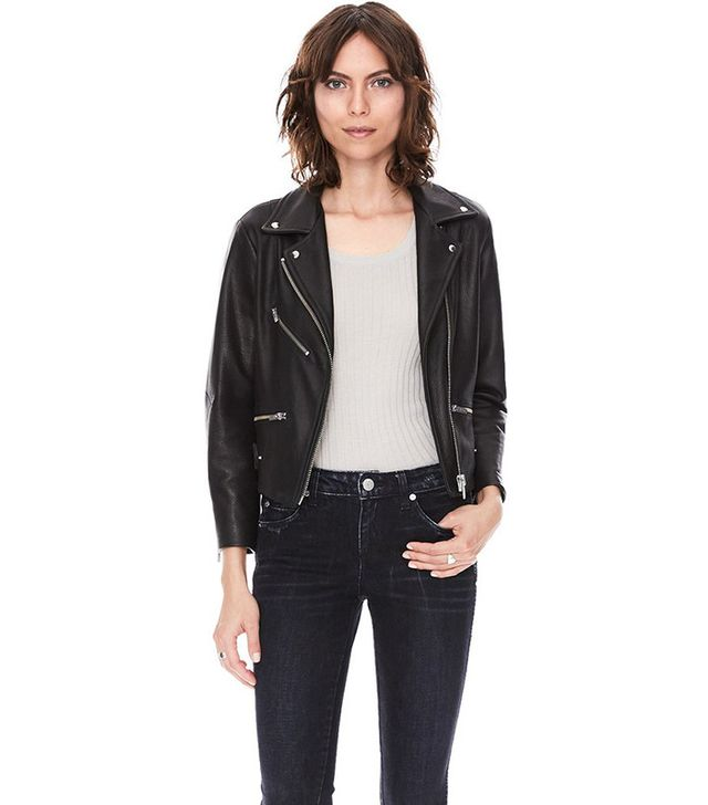 VEDA Mercer Collection Grand Leather Jacket