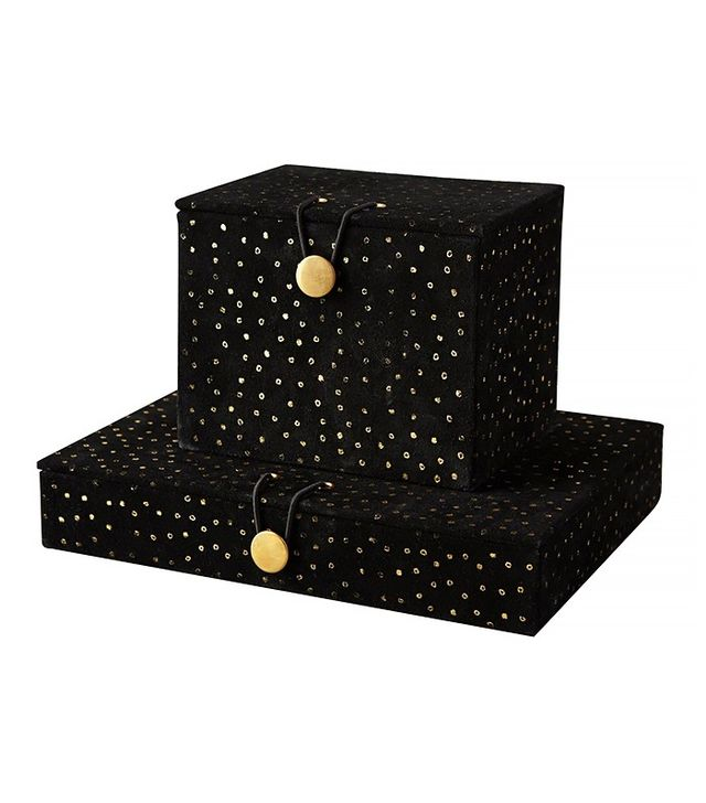 Anthropologie Star Cluster Jewelry Box