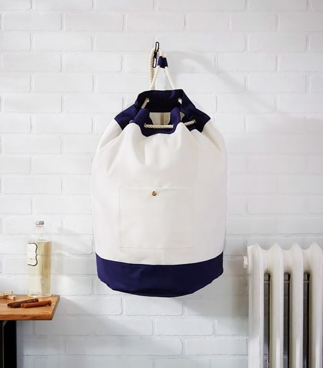 West Elm Rope Tie Laundry Bag