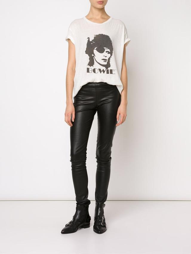 R13 David Bowie Print T-Shirt