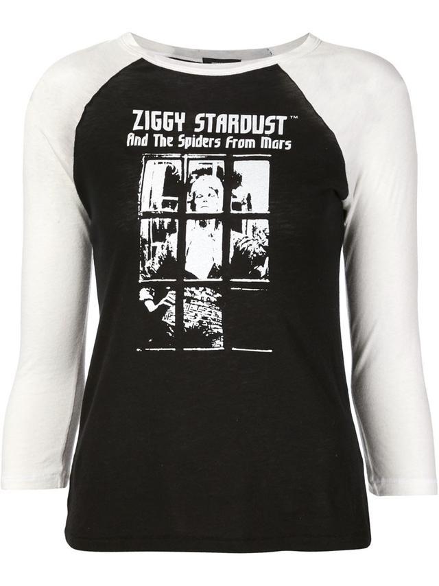R13 Ziggy Stardust Print T-Shirt
