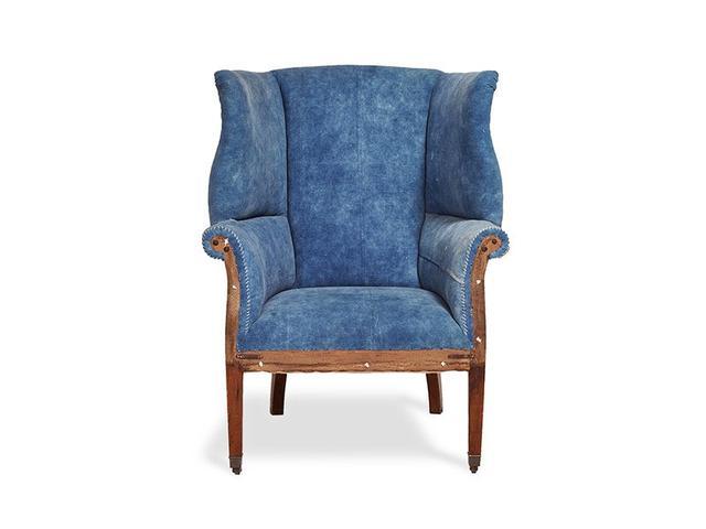 RLH Hepplewhite Wing Chair