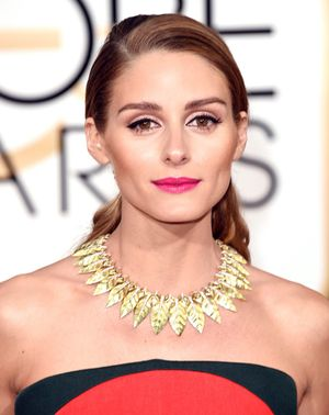 Shop the EXACT Lipstick Olivia Palermo Wore to the Golden Globes Last Year