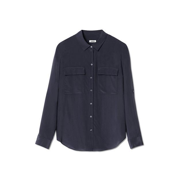 Marcs Sophia Silk Roll Shirt