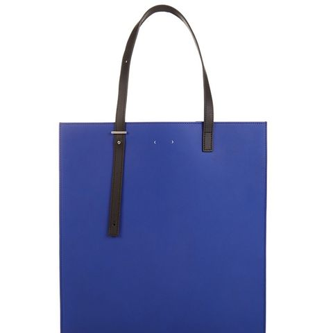 AB1 Leather Tote Bag