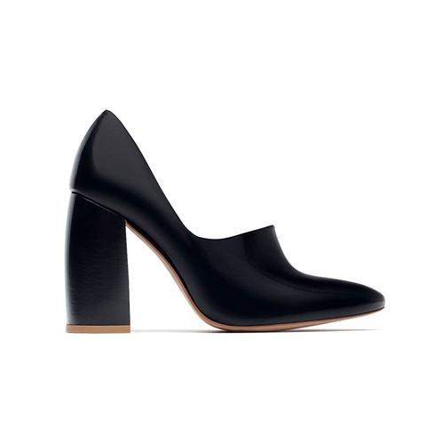 Chunky Heel Shoe