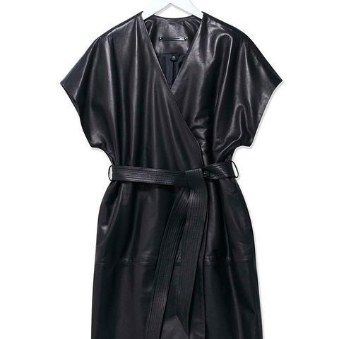 Judo Leather Wrap Jacket