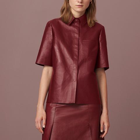 Lyndhurst Leather Shirt