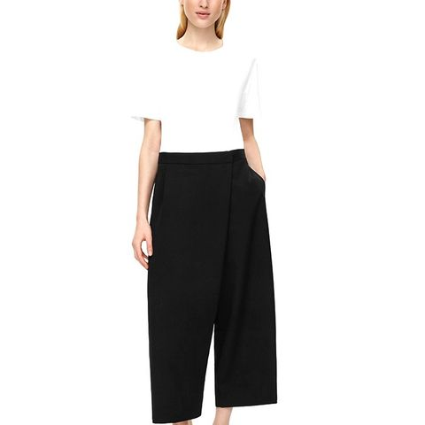 Wrap-Over Trousers