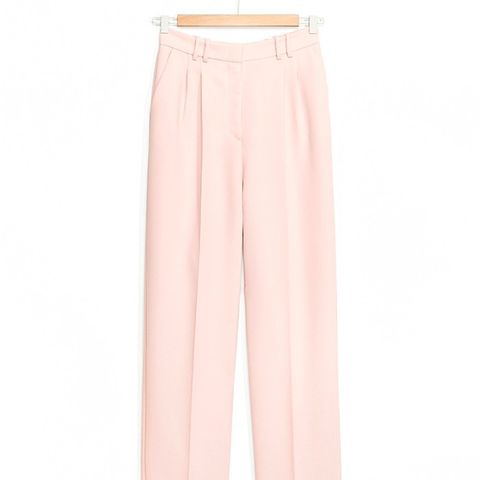 Straight-Fit Tailored Trousers
