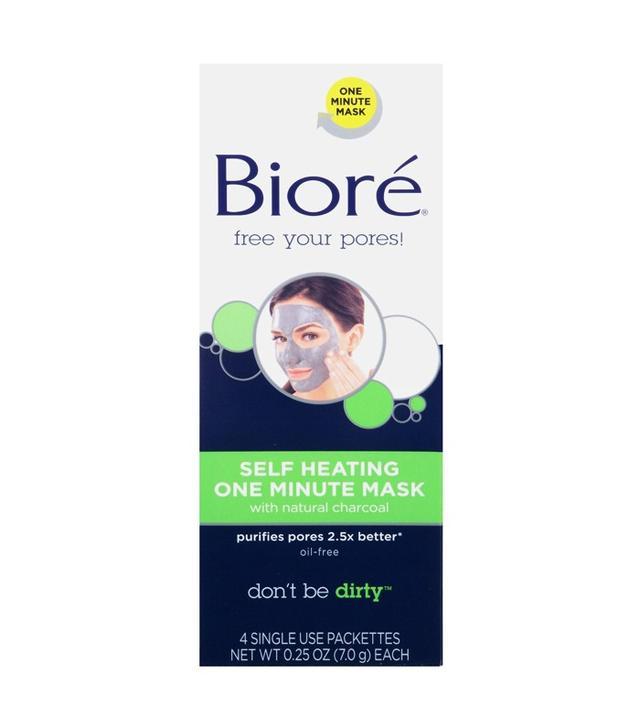 Bioré Self Heating One Minute Mask (Pack of 4)