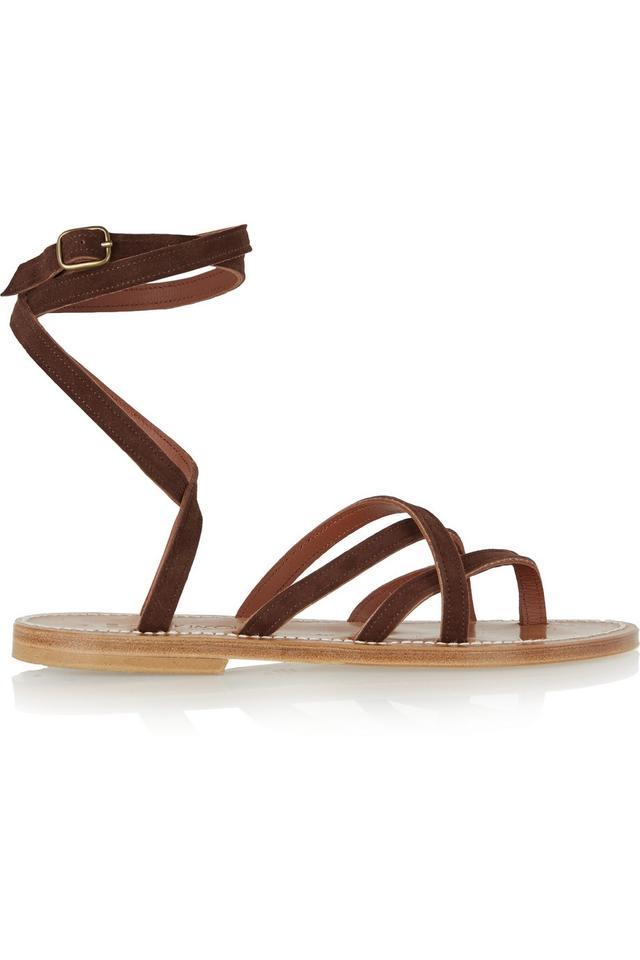 K Jacques St. Tropez Zenobie Suede Sandals