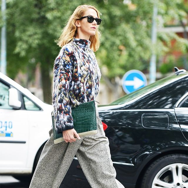 The Street Style Guide to Dressing Up Your Flats
