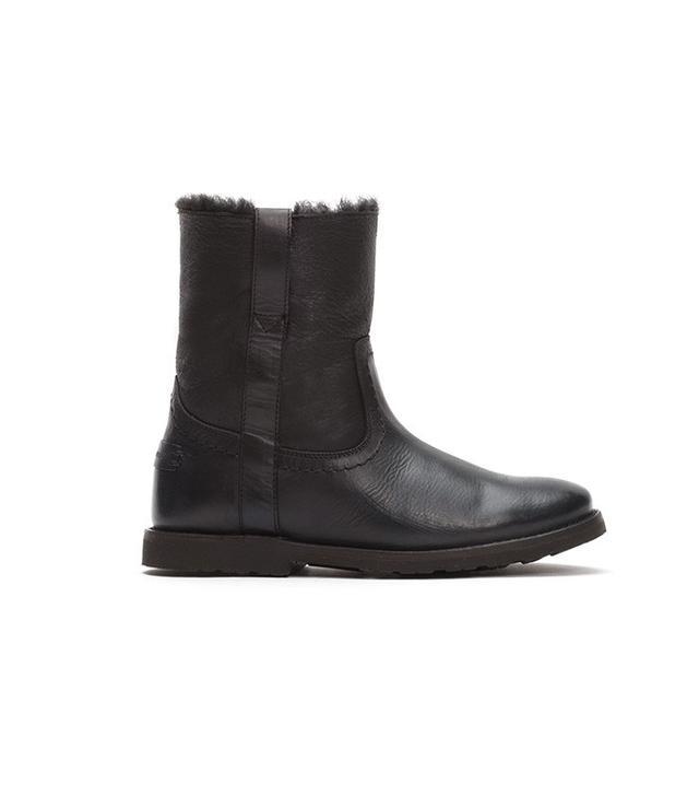 Frye Celia Shearling Short Boots