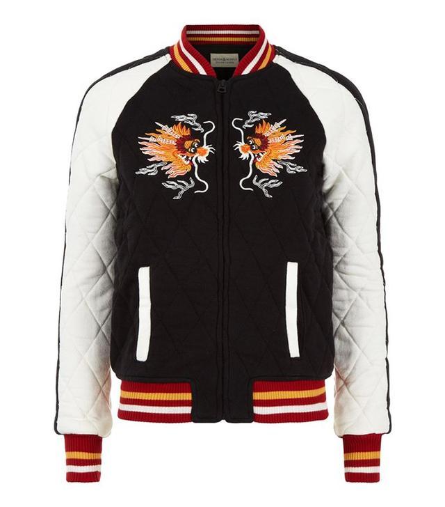 Denim & Supply Ralph Lauren Sateen Bomber Jacket