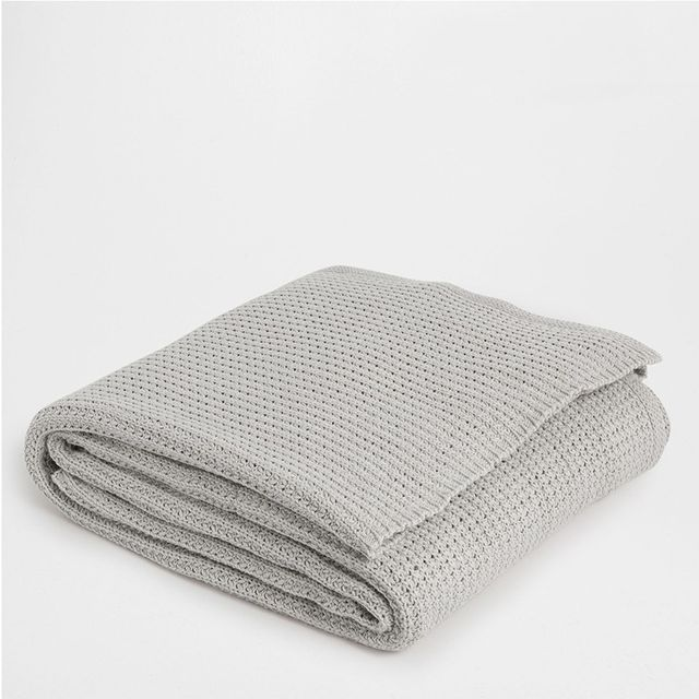 Zara Home Cotton Knit Blanket