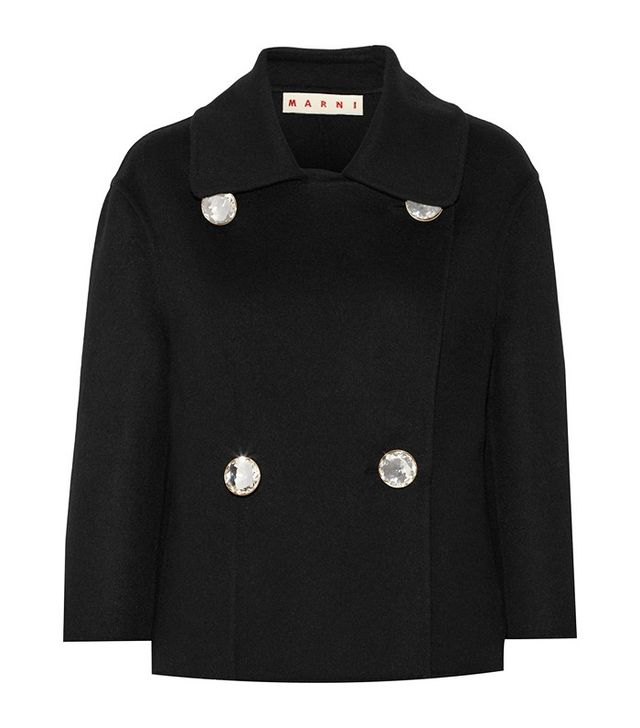Marni Double-Breasted Wool Coat