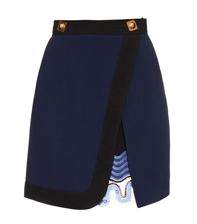 Peter Pilotto Danis Wool-Cady Skirt