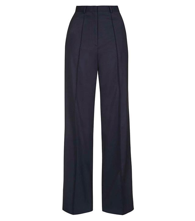 Topshop Premium Slouchy Suit Trousers
