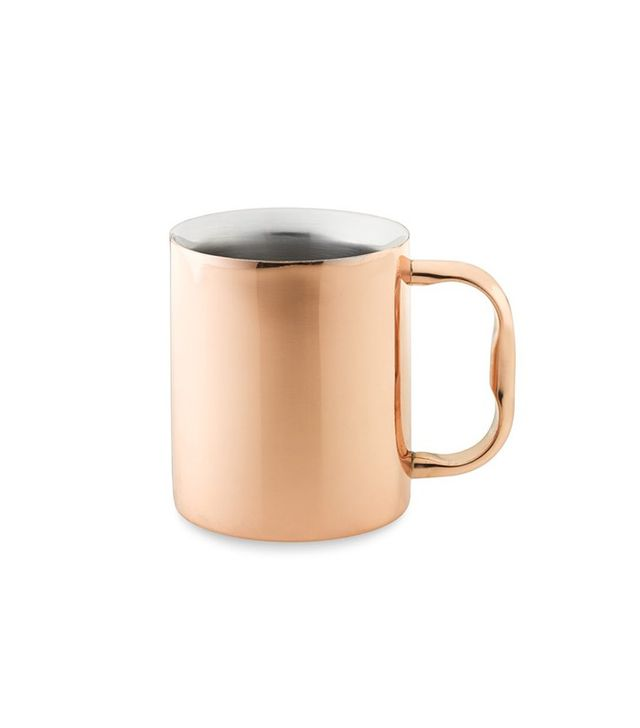 Williams-Sonoma Double Wall Copper Coffee Mug