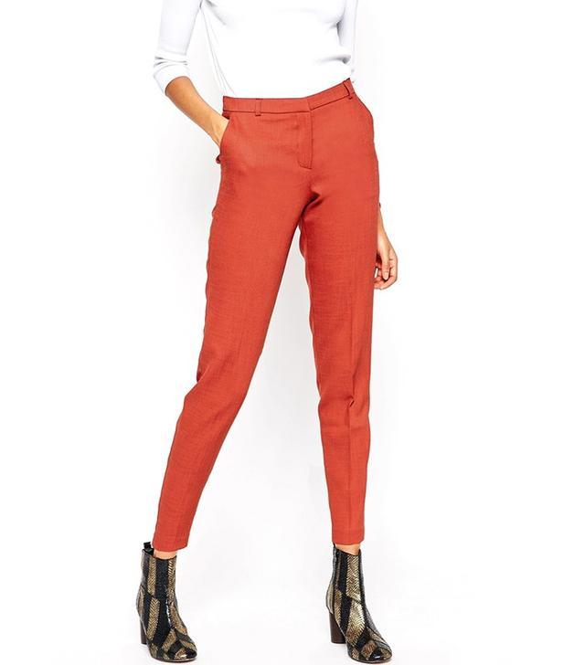 ASOS Premium Slim Tailored Cigarette Pants