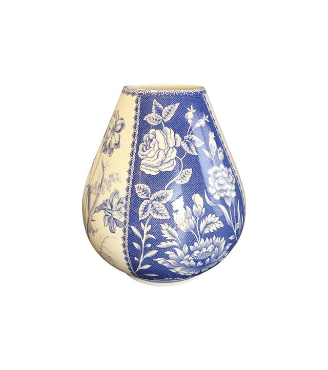 Spode Blue & White Vase