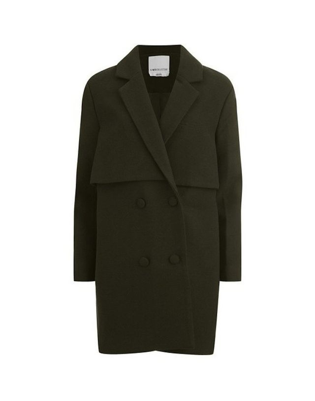 C/MEO Straight Talker Coat in Khaki