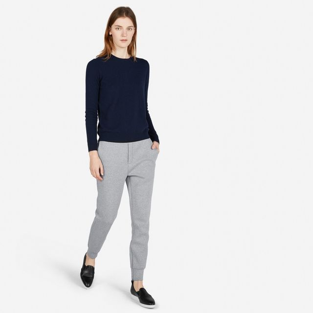 Everlane Street Fleece Pants in Gray