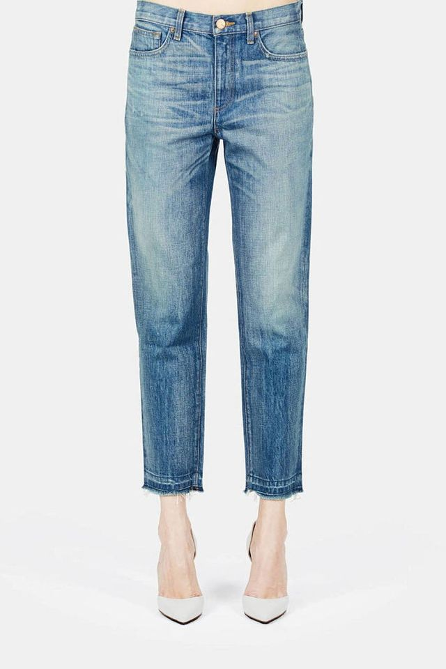 The Denim Brand With the Best Non-Skinny Skinnies | WhoWhatWear
