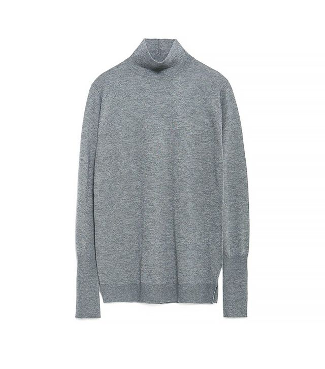 Zara Polo Neck Sweater