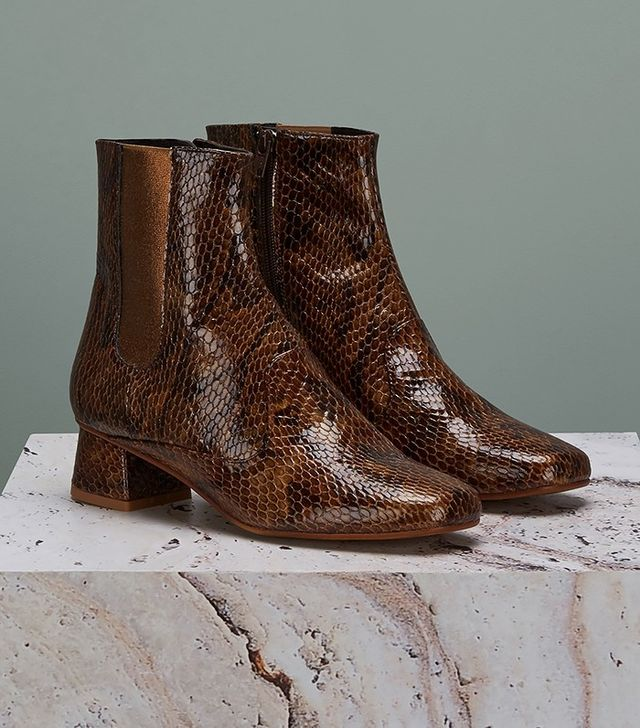 Finery Elmworth Leather Closed Boots