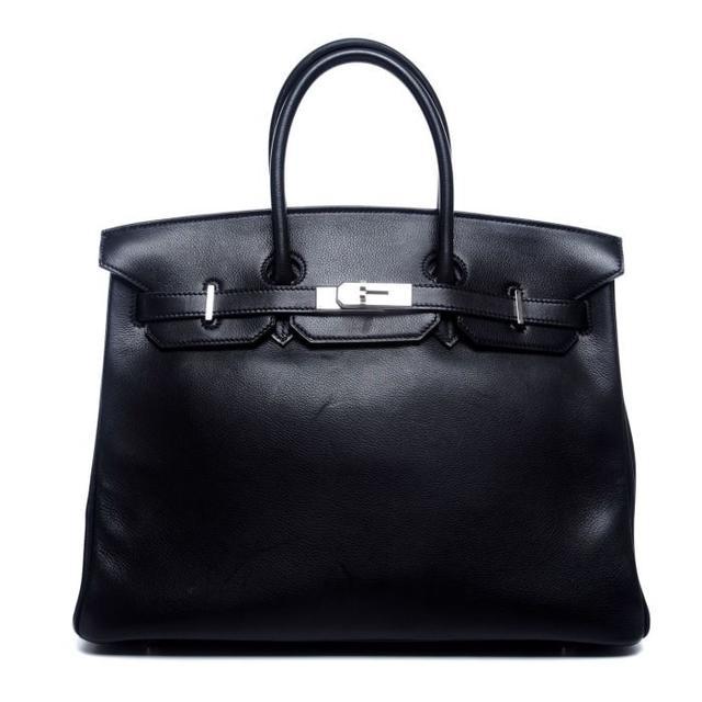 Hermès Birkin in Black Evergrain