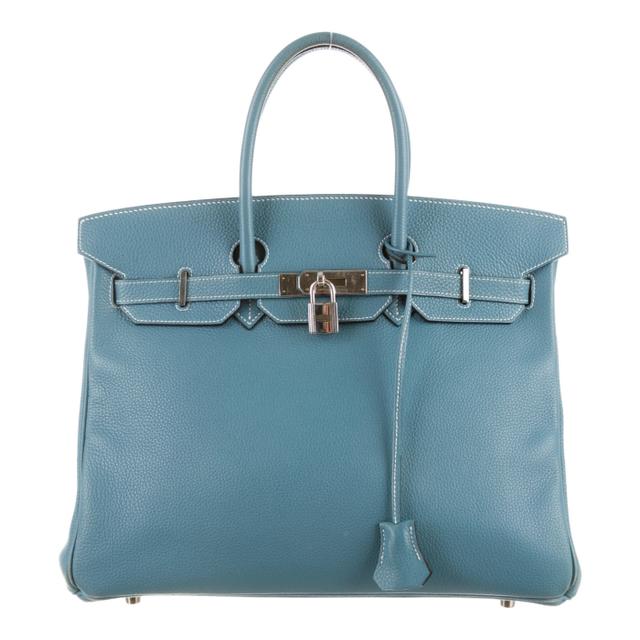 Hermès Birkin in Blue Jean