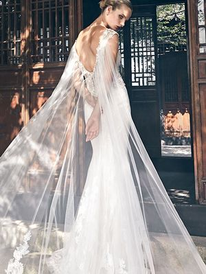Badgley Mischka's New Wedding Dresses Are Beyond Beautiful