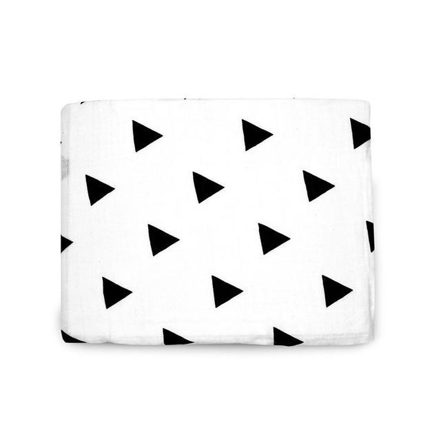 Modern Burlap Organic Cotton Muslin Swaddle Blanket