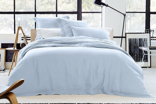 Sheridan Abbotson Linen Tailored Quilt Cover