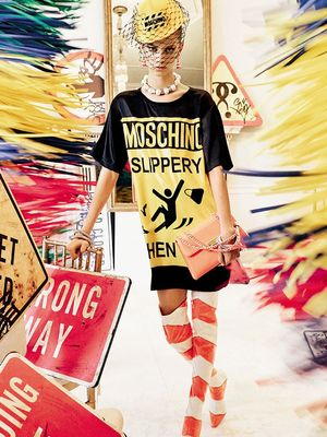 The Moschino Spring Campaign Is a Wacky Delight