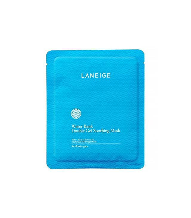 Laneige Water Bank Double Gel Soothing Mask, Set of 5