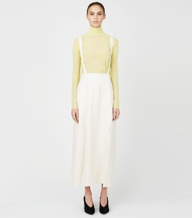 Ryan Roche Suspender Skirt