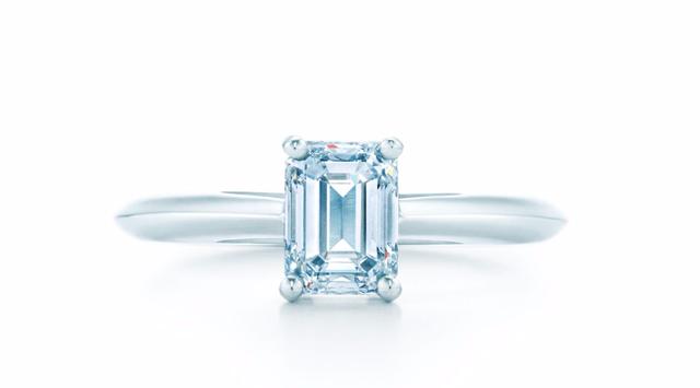 Tiffany & Co. Emerald Cut Ring