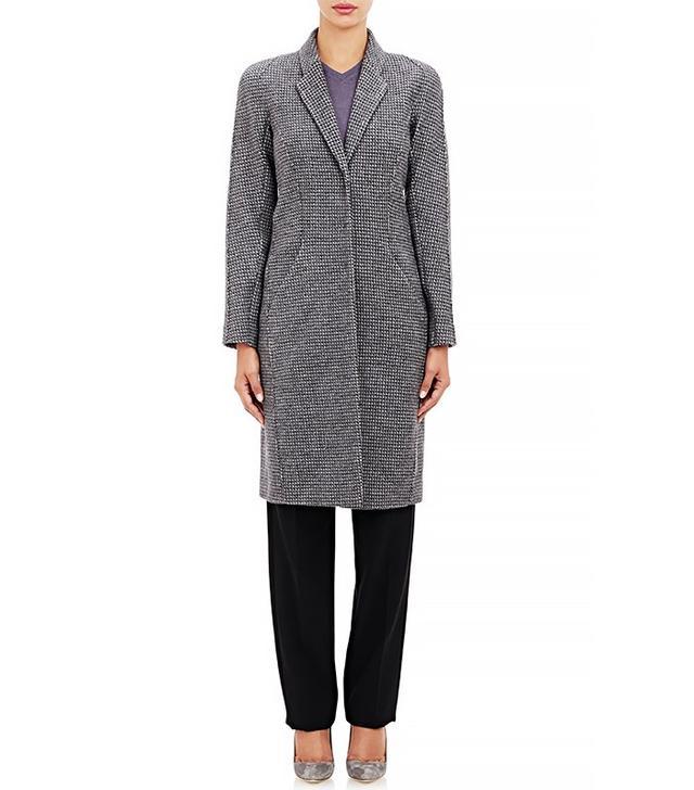 Giorgio Armani Tweed Coat