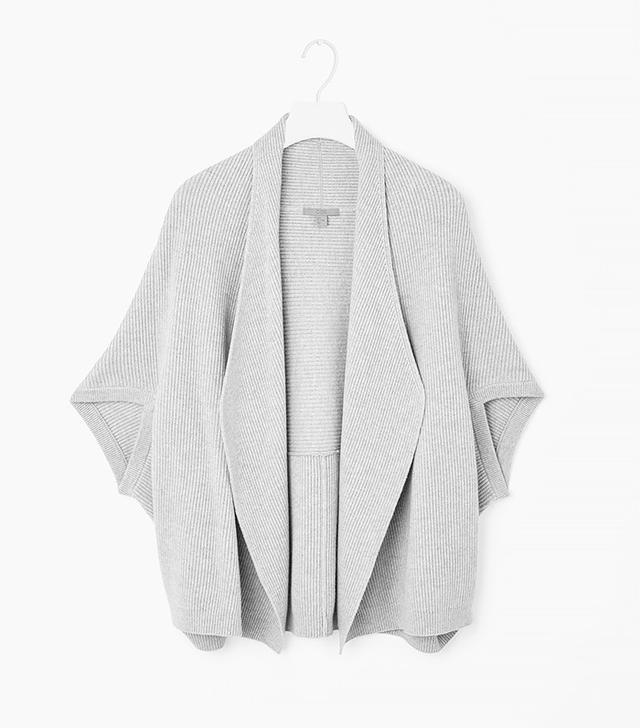 COS Ribbed Knit Cardigan