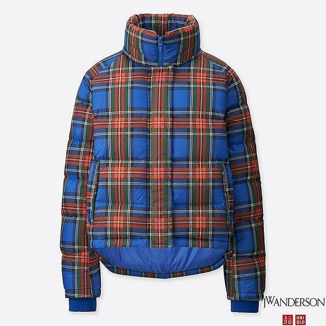 Women's JWA Light Down Jacket, Blue, M
