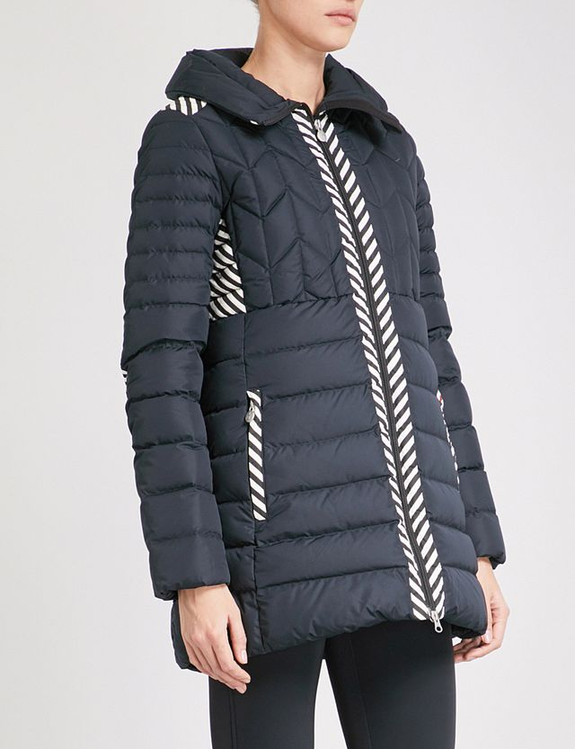 Perfect Moment Apls Quilted Puffer Shell-Down and Feather-Blend Ski Jacket