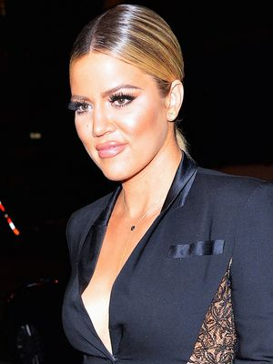 You've Got to See Khloé Kardashian's Unexpected Hair Accessory
