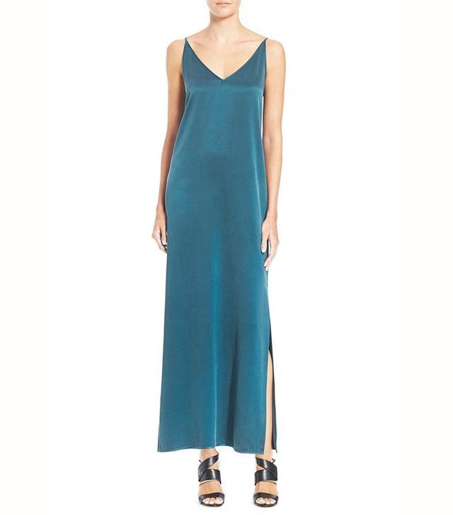 Equipment Racquel Silk Slip Maxi Dress